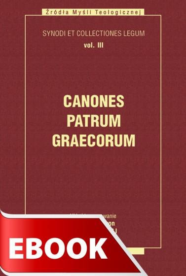 Canones Patrum Graecorum tom III