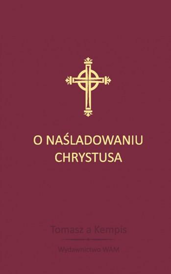 O naśladowaniu Chrystusa bordowy