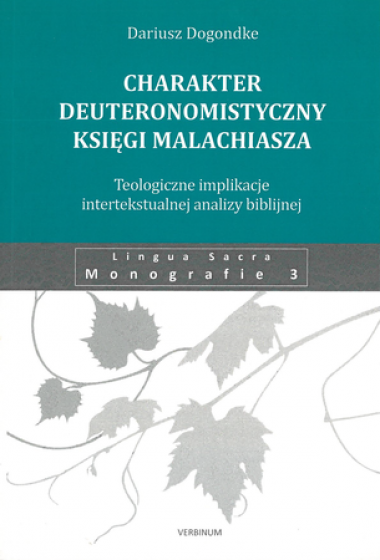 Charakter deuteronomistyczny Księgi Malachiasza / Outlet