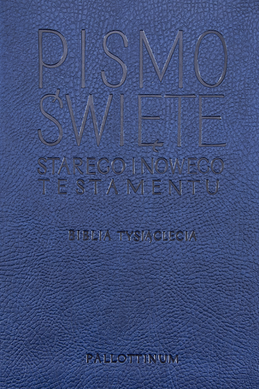 Pismo Święte Biblia pielgrzyma z paginatorami