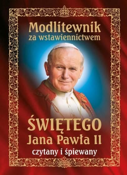 Modlitewnik za wstawiennictwem świętego Jana Pawła II CD