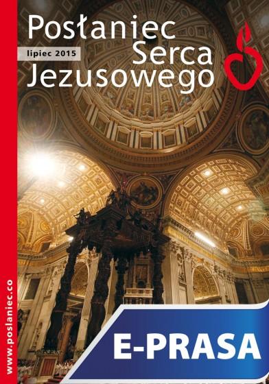 Posłaniec Serca Jezusowego - lipiec 2015