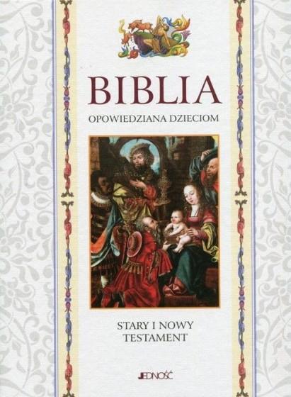 Biblia opowiedziana dzieciom w etui / Wyprzedaż