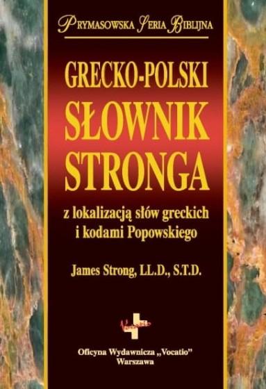 Grecko-polski słownik Stronga / Wyprzedaż