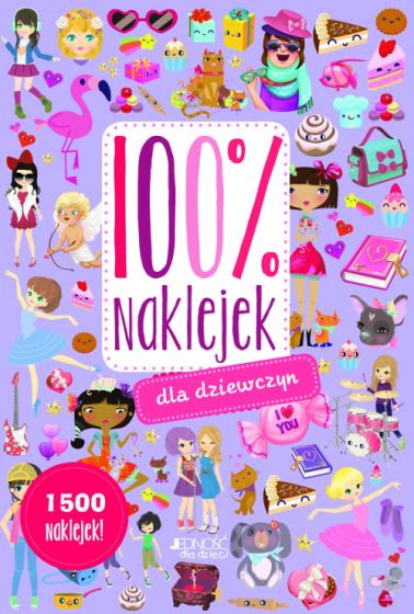 100% naklejek dla dziewczyn