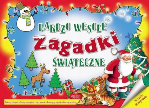 Bardzo wesołe zagadki świąteczne