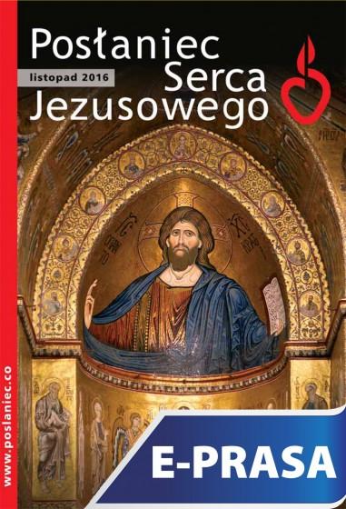 Posłaniec Serca Jezusowego - listopad 2016