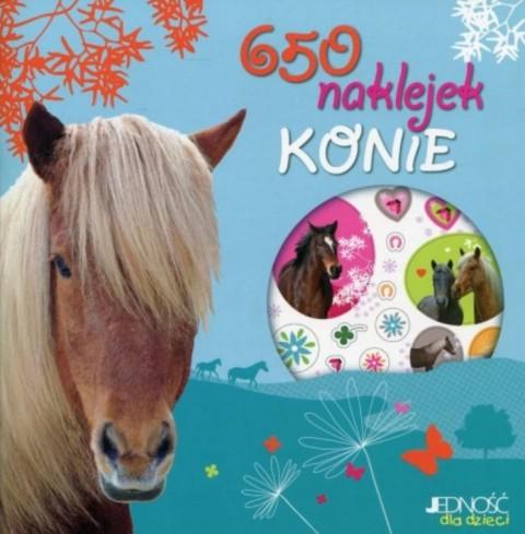 650 naklejek. Konie