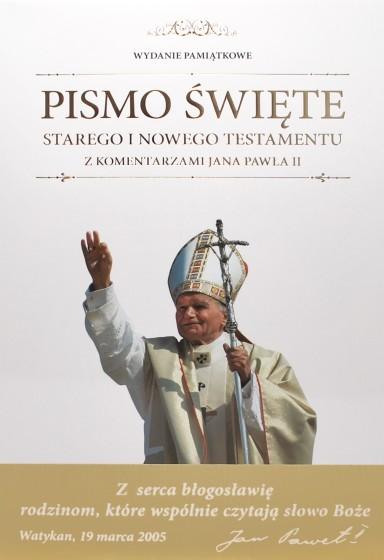 Pismo Święte Starego i Nowego Testamentu z komentarzami Jana Pawła II