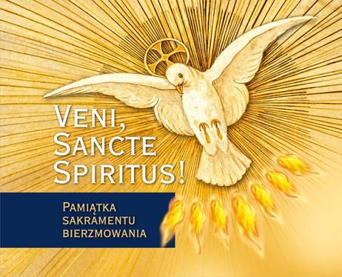 Veni, Sancte Spiritus! granatowy