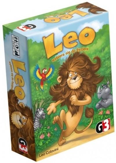 Leo wybiera się do fryzjera