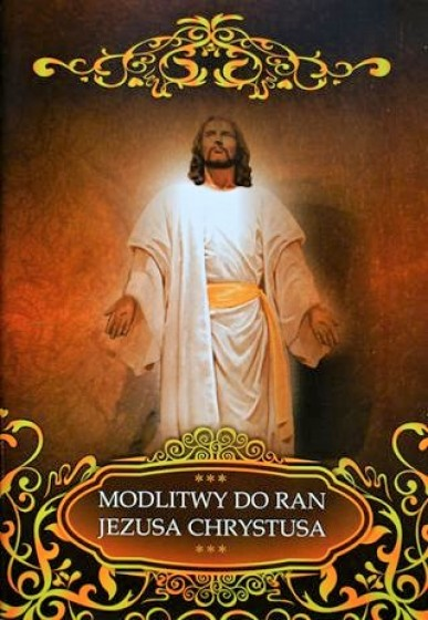 Modlitwy do Ran Jezusa Chrystusa / Druczek