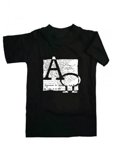 Koszulka - Alfa i Omega (czarna, M)