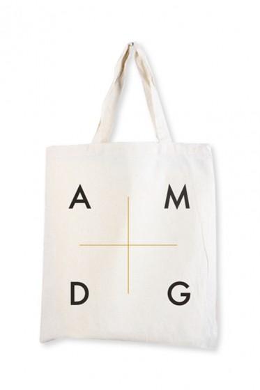 Torba - AMDG - biała