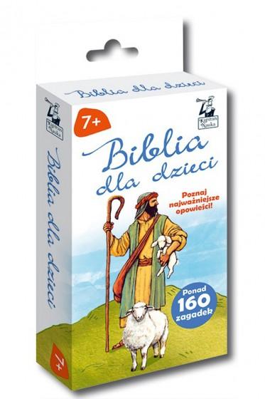 Biblia dla dzieci Opowieści + zagadki