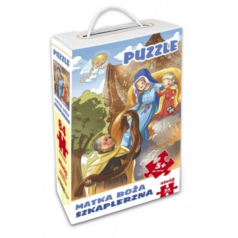 Matka Boża Szkaplerzna - puzzle