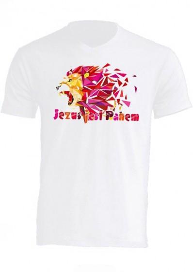 Koszulka - Jezus jest Panem XXL