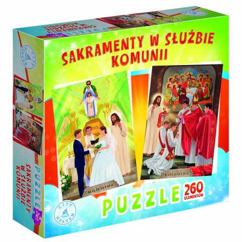Sakramenty w służbie komunii (puzzle)