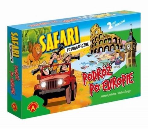 Safari fotograficzne i podróż po Europie