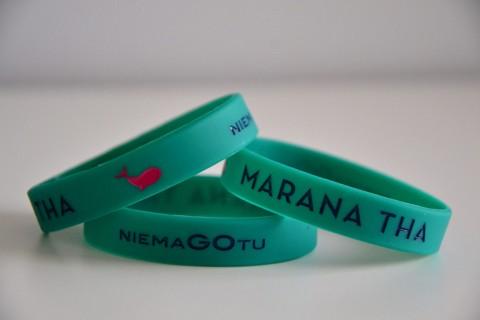 Marana tha - opaska zielona mniejsza
