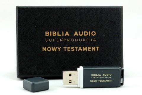 Biblia Audio Superprodukcja Nowy Testament - Pendrive