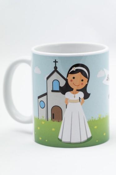 Kubek - Pierwsza Komunia Święta - dla dziewczynki