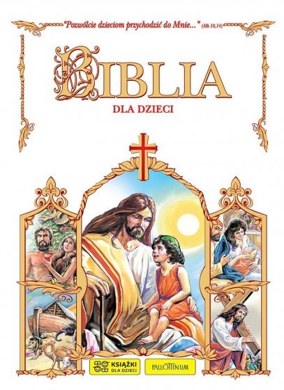 Biblia dla dzieci  komunijna