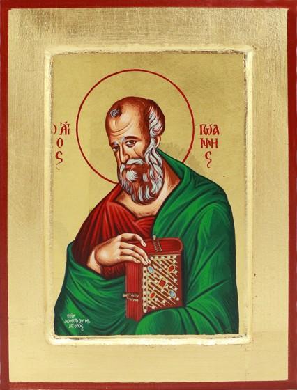 Ikona Święty Jan Apostoł średnia