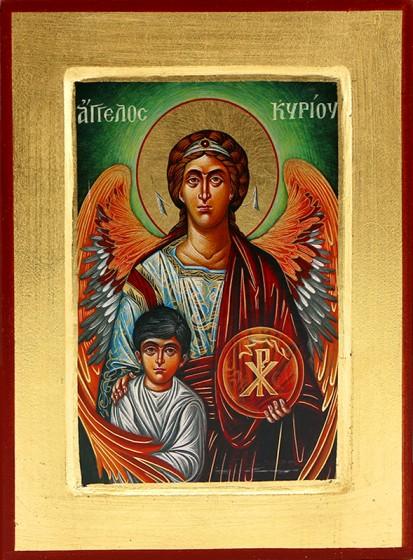 Ikona Anioł Stróż duża