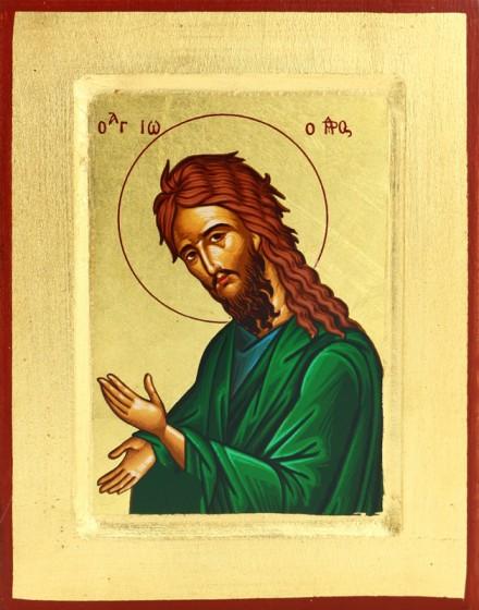 Ikona Jan Chrzciciel mała