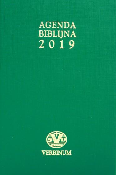 Agenda biblijna 2019 duża zielona