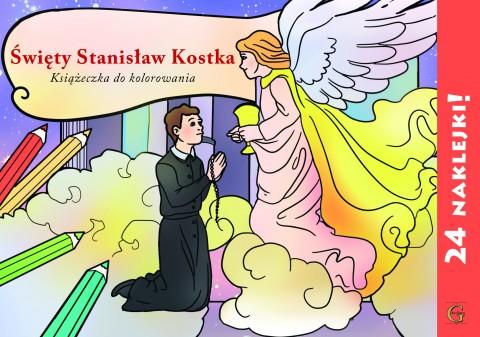 Święty Stanisław Kostka kolorowanka