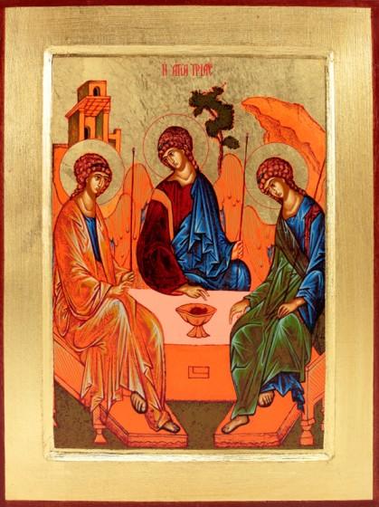 Ikona Trójca Święta duża