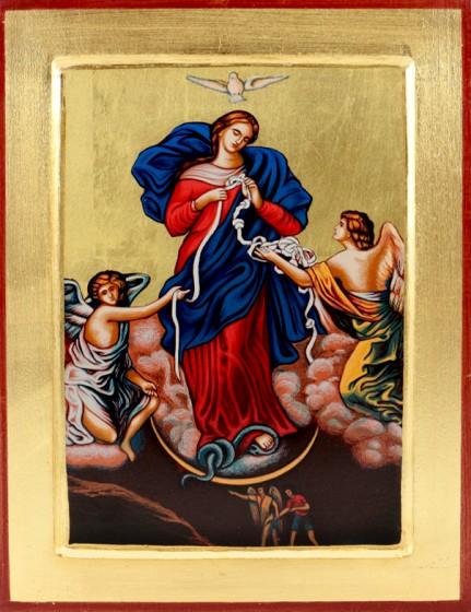 Ikona Matka Boża rozwiązująca węzły średnia