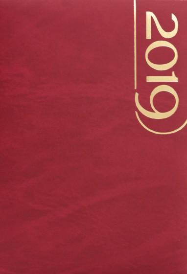 Terminarz A5 Standard czerwony