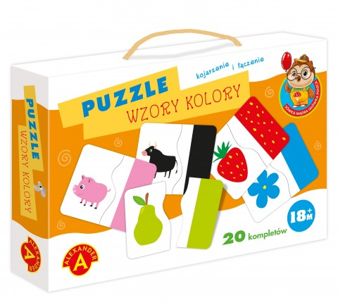 Puzzle - Wzory, kolory