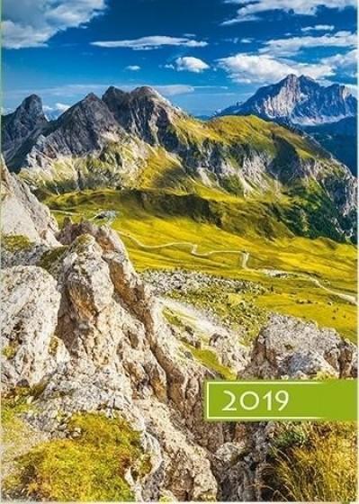 Kalendarz B6 Kolorowy - Góry