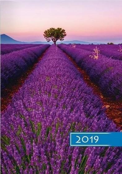 Kalendarz B6 Kolorowy - Lawenda