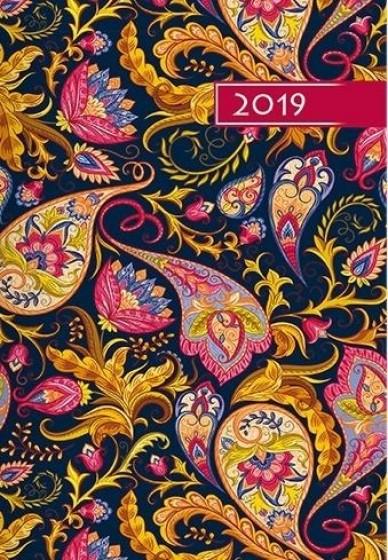 Kalendarz B6 Kolorowy - Ornament