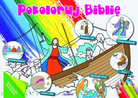 Pokoloruj Biblię