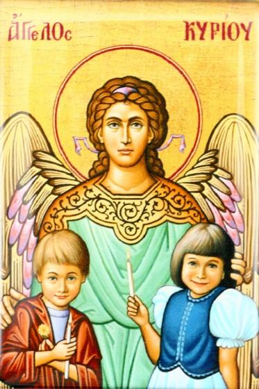 Anioł Stróż magnes