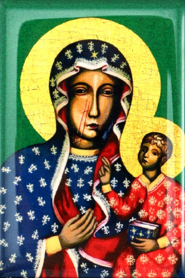 Matka Boża Częstochowska magnes