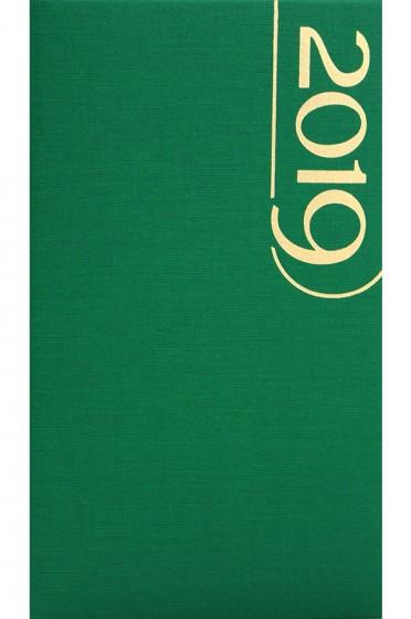 Terminarz tygodniowy Standard zielony