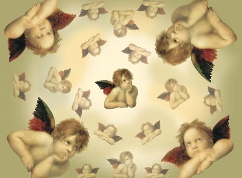 Aniołki podkładka