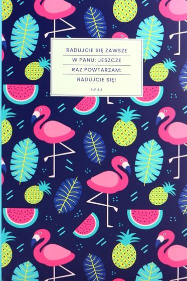 Notatnik Lux - Flamingi