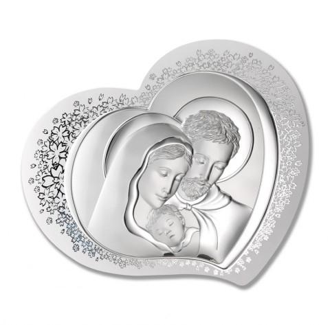 Święta Rodzina obrazek srebrny 81310 1L DO