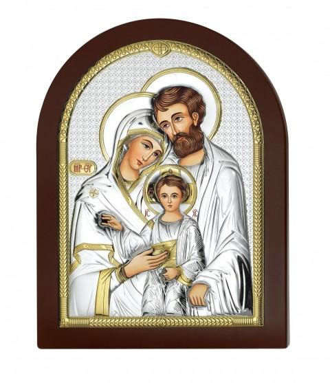 Święta Rodzina obraz srebrny AE0801/4