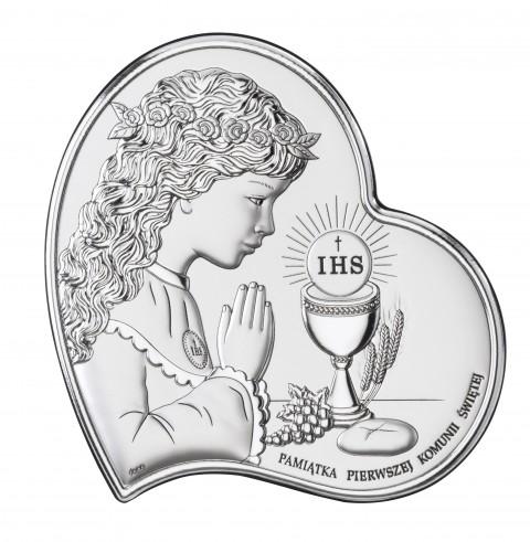 Pamiątka Pierwszej Komunii Świętej dla dziewczynki DS03/3A