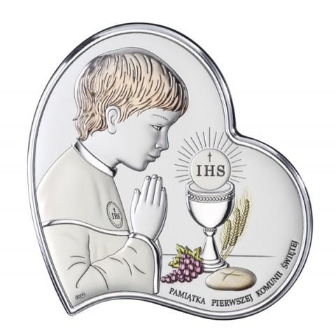 Pamiątka Pierwszej Komunii Świętej dla chłopca DS03/2CO