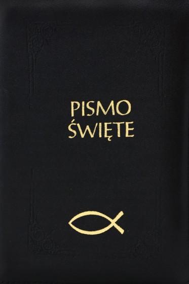 Pismo Święte Starego i Nowego Testamentu zamek małe czarne
